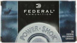 Federal Amunicja kulowa Federal 30-06 Power Shok 11,7g uniwersalny