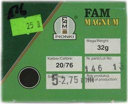 Fam Pionki Nab. Myśl. FAM 20/76 Magnum ZAT 32g  5 uniwersalny