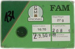 Fam Pionki Nab. Myśl. FAM 16/70 ZAT 27g 2-3,50mm uniwersalny