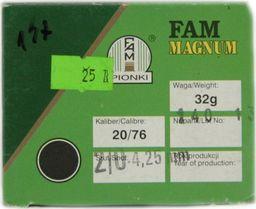 Fam Pionki Nab. Myśl. FAM 20/76 Magnum ZAT 32g  2/0 uniwersalny