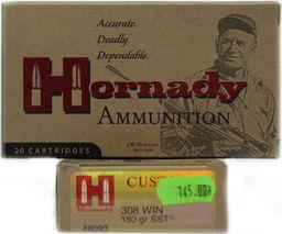 Hornady Amunicja Kulowa Hornady .308Win SSt 150/9,7 uniwersalny