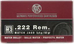 RWS Amunicja RWS kal. 222 REM 3,4G uniwersalny