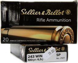 S&B Amunicja Kulowa S&B .243 Winchester SP 6,5g uniwersalny