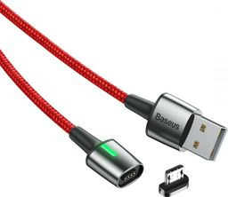 Kabel USB Baseus Micro Usb Magnetic Cable 100cm Red