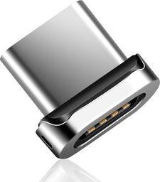 Elough Wtyczka magnetyczna Type-c srebrna