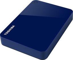 Dysk zewnętrzny Toshiba HDD Canvio Advance 4 TB Niebieski (HDTC940EL3CA)