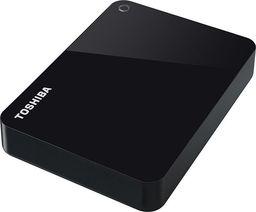 Dysk zewnętrzny Toshiba HDD Canvio Advance 4 TB Czarny (HDTC940EK3CA)