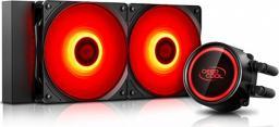 Chłodzenie wodne Deepcool Gammaxx L240T Red (DP-H12RF-GL240TR)