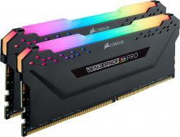Pamięć Corsair Vengeance RGB PRO, DDR4, 16 GB,3600MHz, CL18 (CMW16GX4M2D3600C18)
