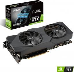 Karta graficzna Asus GeForce Dual RTX 2070 SUPER O8G EVO 8GB GDDR6 (90YV0DK3-M0NA00)