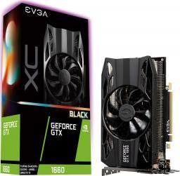 Karta graficzna EVGA GeForce GTX 1660 XC Black Gaming 6GB GDDR5 (06G-P4-1161-KR)