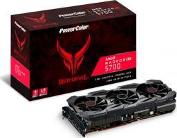 Karta graficzna Power Color Radeon RX 5700 Red Devil 8GB GDDR6 (AXRX 5700 8GBD6-3DHE/OC)