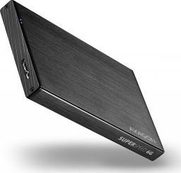 """Kieszeń Axagon EE25-XA6, USB3.0 - SATA 6G, 2.5"""" aluminiowa obudowa zewnętrzna"""