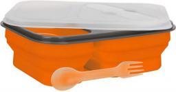 1 MPM Pojemnik śniadaniowy Smile 0,6L pomarańczowy (SLS-1/5)