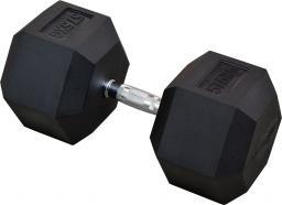 Eb Fit Hantel gumowany Hex 57.5kg czarny