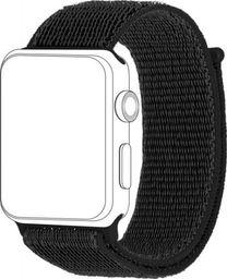 Topp TOPP pasek do Apple Watch 38/40 mm nylon siatka, czarny