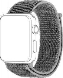 Topp TOPP pasek do Apple Watch 42/44 mm nylon siatka, szary