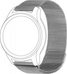 Topp TOPP pasek do Samsung Galaxy Watch 42 mm mesh, srebrny