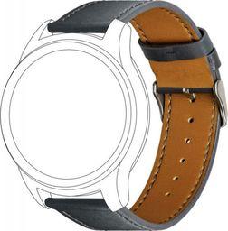 Topp TOPP pasek do Samsung Galaxy Watch 42 mm skóra, szary