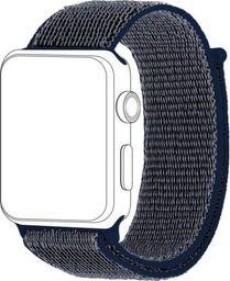 Topp TOPP pasek do Apple Watch 42/44 mm nylon siatka, niebieski