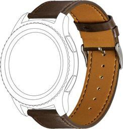 Topp TOPP pasek do Samsung Galaxy Watch 46 mm skóra, brązowy