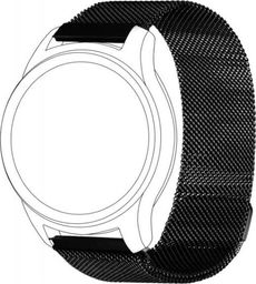 Topp TOPP pasek do Samsung Galaxy Watch 46 mm mesh, czarny
