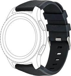 Topp TOPP pasek do Samsung Galaxy Watch 42 mm silikon, czarny