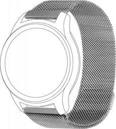 Topp TOPP pasek do Samsung Galaxy Watch 46 mm mesh, srebrny