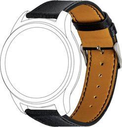 Topp TOPP pasek do Samsung Galaxy Watch 42 mm skóra, czarny