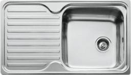 Teka Zlewozmywak 1-komorowy Classico z ociekaczem 86 x 50cm stalowy (10119056)
