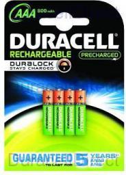 Duracell Akumulator AAA / R03 800mAh 4szt.