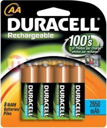 Duracell Bateria AA / R6 2450mAh 4szt.