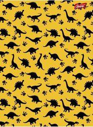Unipap Zeszyt A5 16k krata żółte dinozaury
