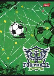 Unipap Zeszyt A5 16k krata Football League Zielony