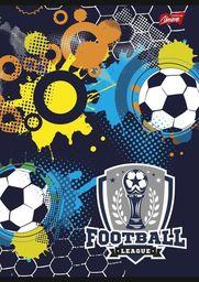Unipap Zeszyt A5 16k krata Unipap Football League Czarny uniwersalny
