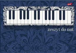 Unipap Zeszyt do Nut A5/16k Fortepian