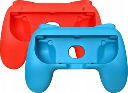 MARIGames Uchwyt do Nintendo Switch - Czerwono / Niebieskie