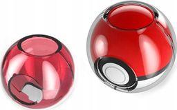Mimd Pokrowiec Case Clear Na Pokeball Nintendo Switch - Czerwony / Przezroczysty