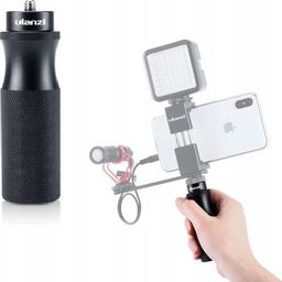 """Ulanzi Uchwyt Grip Stabilizator 1/4"""""""" Do Ręki Do Aparatu / Kamery / Telefonu - Vlog"""