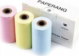 Paperang Papier Wkład 3x Rolki P-dcz 3 Kolory Do Drukarki Paperang P2