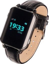 Smartwatch Garett Electronics GPS Classic Czarny Srebrny  (11407)