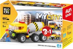Blocki Klocki Mubi MyCity 3w1 (KB6112)