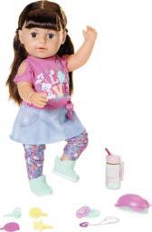 Zapf Baby born® Lalka Interaktywna siostrzyczka brunetka