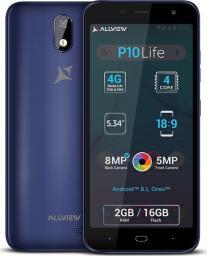 Smartfon AllView P10 Life 16 GB Dual SIM Niebieski