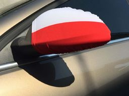 ENERO  Flaga Samochodowa Na Lusterka Polska
