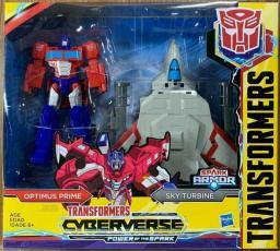 Transformers Cyberverse Spark Armor Optimus Prime (E4220/E4328)