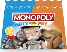 Hasbro Monopoly Koty kontra psy (E5793)