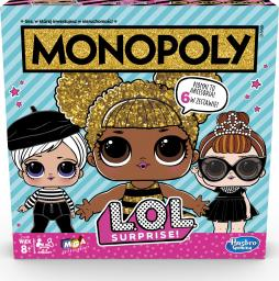 Hasbro Gra planszowa Monopoly L.O.L. Surprise (E7572)