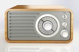 Radio Eltra Radio Śnieżka srebrny-5907727028155