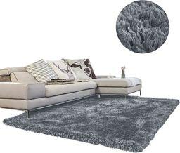Dywan - Living Room Shaggy 100x150 - Dark Silver uniwersalny